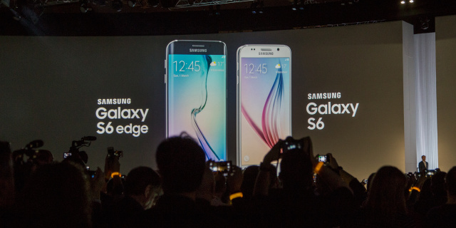 Samsung's new flagship smartphones: the Galaxy S6 and Galaxy S6 Edge