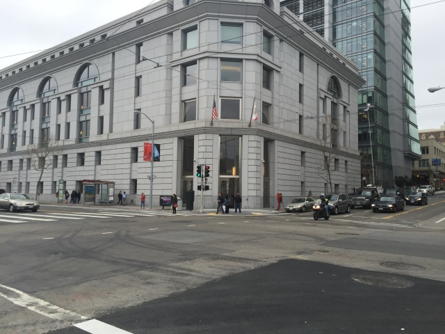 San Francisco Superior Court, where Ellen Pao is suing Kleiner Perkins for gender discrimination.