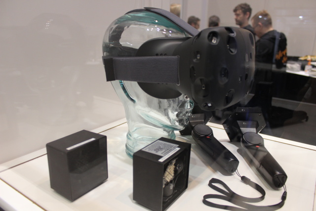 "This is the March version of the SteamVR ""Vive"" headset co-created by HTC; a newer dev kit has already shipped to eligible SteamVR developers."