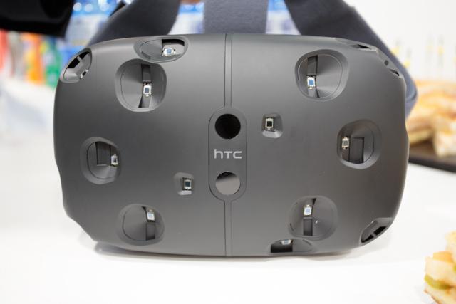 HTC/Valve Vive VR headset, front