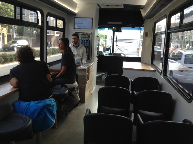 Private bus startup Leap hit with complaint under US disabilities law