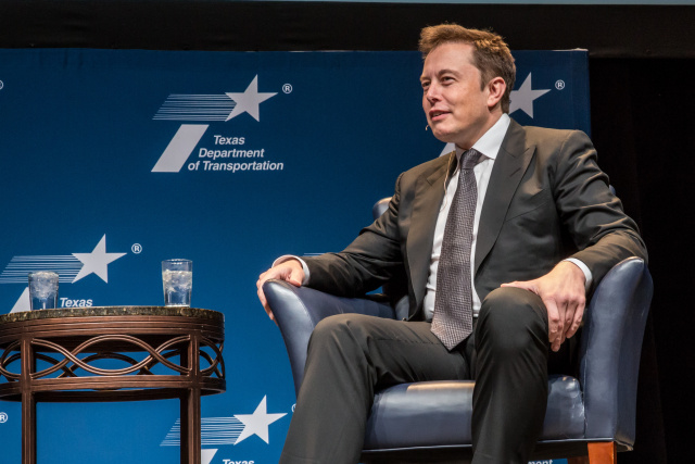 Musk says he may take Tesla private and shares roar