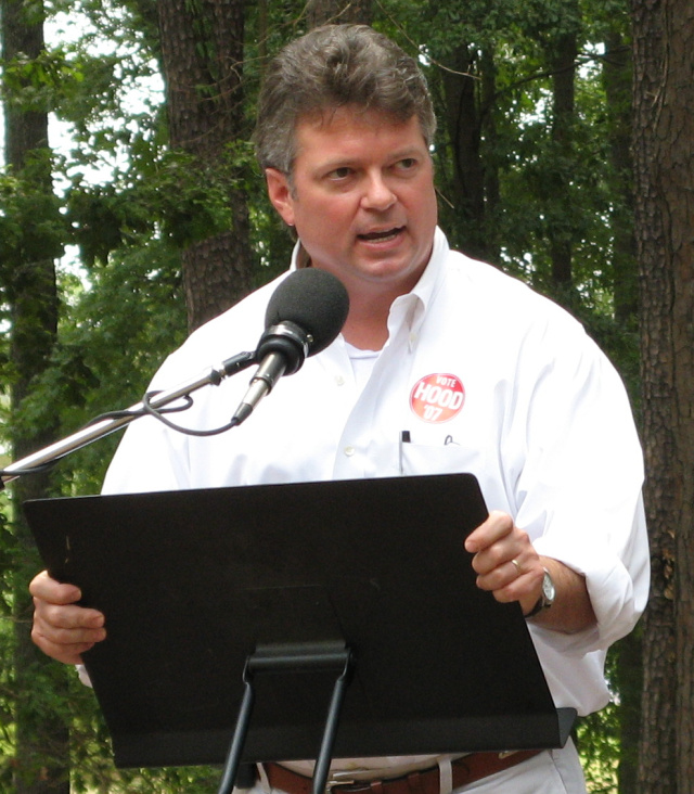 Mississippi Attorney General Jim Hood, pictured here running for election in 2007.