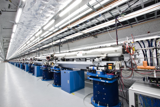 This free electron laser could eventually provide a test of quantum gravity.