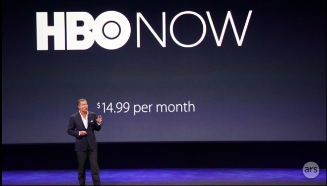 """HBO Now"" arrives this spring—$15 per month with Apple as launch partner [Updated]"