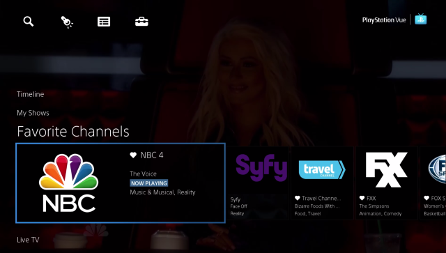 PlayStation Vue launches live-TV service in three cities, starts at $49/mo