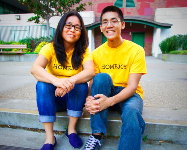 Adora and Aaron Cheung (sister and brother) founded Homejoy in July 2012.