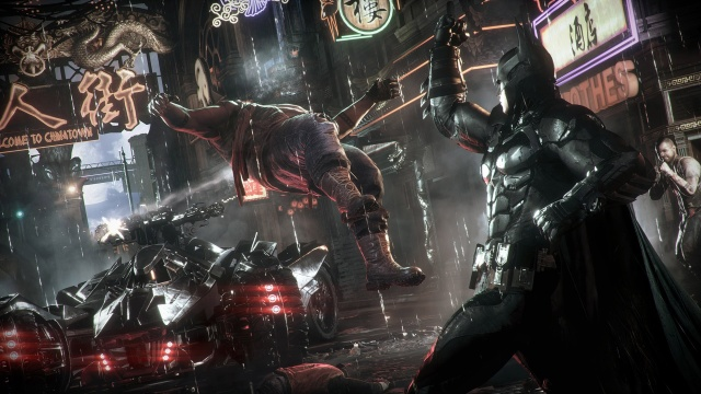 ESRB explains why Arkham Knight is the first ever M-rated Batman game