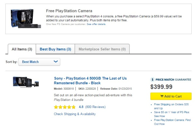 PSA: Get ready for VR with PS4 bundle featuring free PlayStation camera
