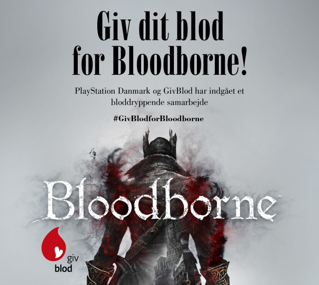 Give your blood for Bloodborne!