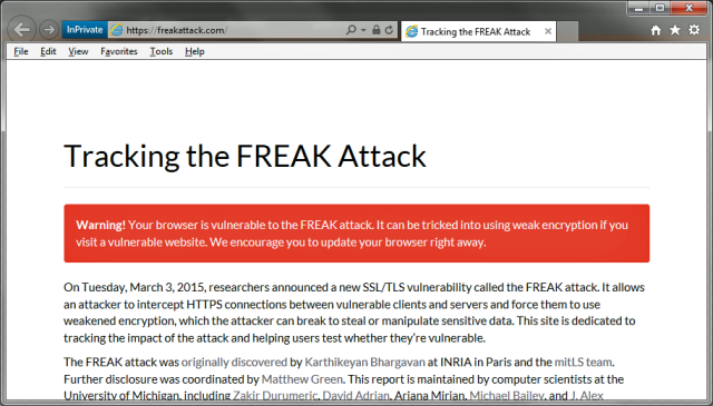 "Stop the presses: HTTPS-crippling ""FREAK"" bug affects Windows after all"