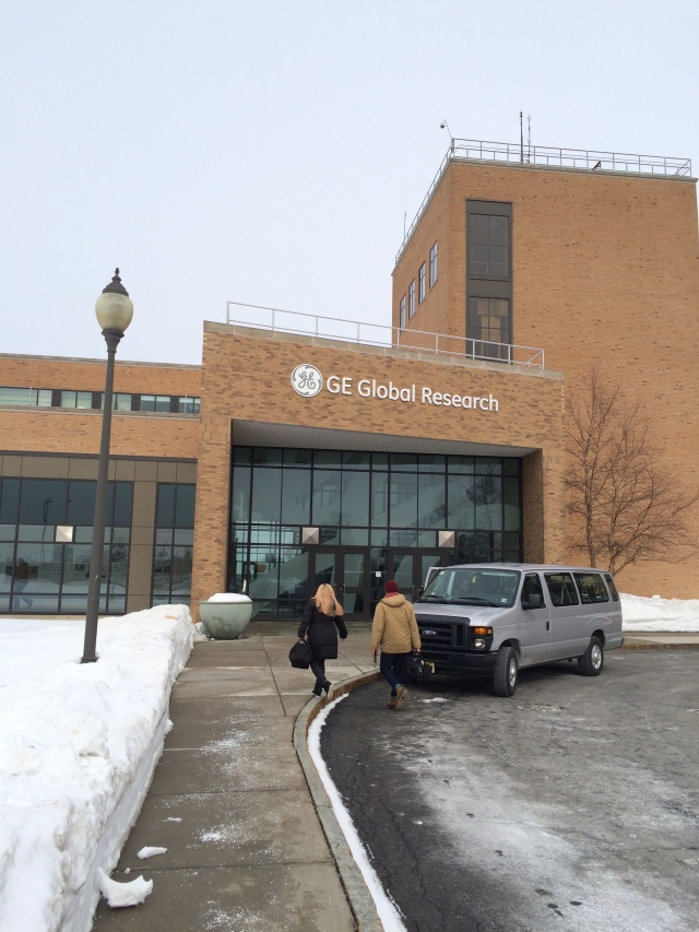 The entrance to GE Global Research in Niskayuna, New York—the mothership for GE's research operations.