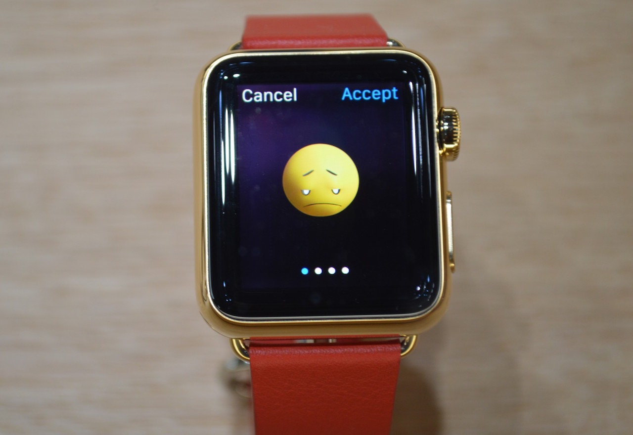 "Don't be sad, Apple Watch! It's almost your ""time"" to shine."