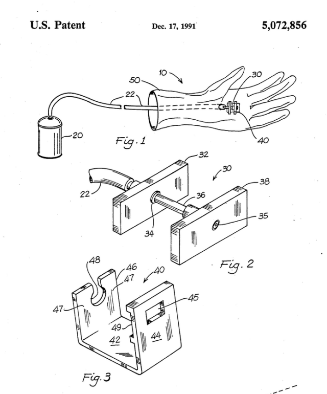 US Patent No. 5,072,856.