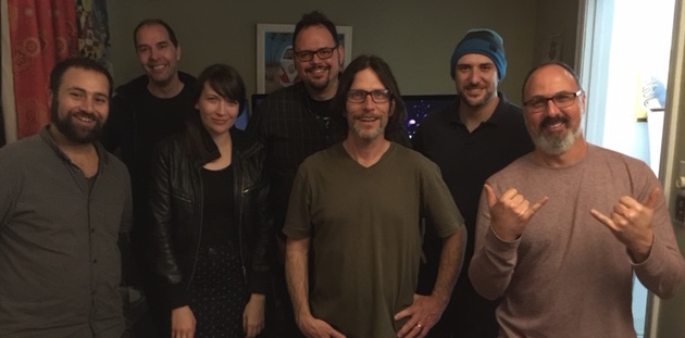 A few Arsians at Casa de Kravets—from left to right, Cyrus Farivar, John (Jay) Timmer, Tiffany Kelly, Sean Gallagher, Dan Goodin, Joe Mullin, and David Kravets Esquire.