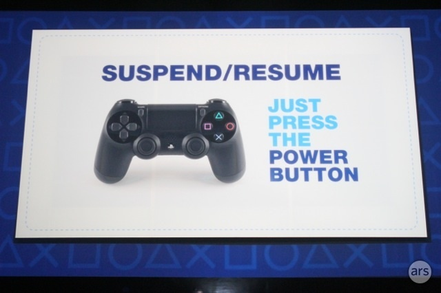A slide from the PS4 announcement over two years ago promises a feature that is just now ready to launch.