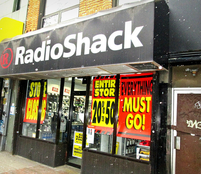 Despite privacy policy, RadioShack customer data up for sale in auction