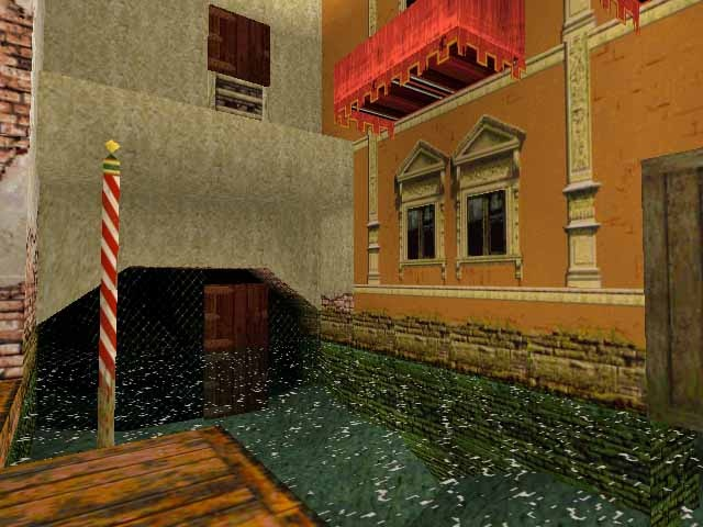 <em>Tomb Raider II</em> took players to picturesque Venice and beyond in a search for a fancy ancient knife.