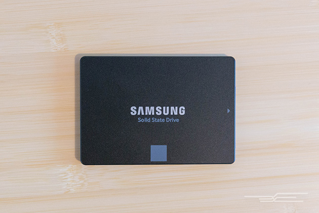 The Samsung 850 EVO comes in 2.5-inch SATA form factor (shown) as well as mSATA and M.2.