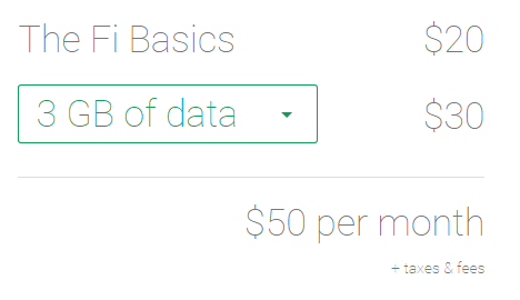 How Google's Project Fi pricing stacks up to the competition