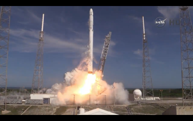 Falcon 9 successfully lifts off—landing on target, but too forceful