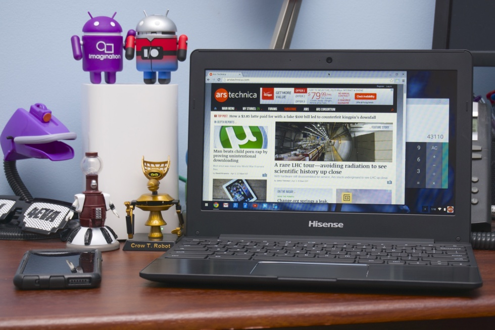 Hisense's $149 ARM Chromebook.
