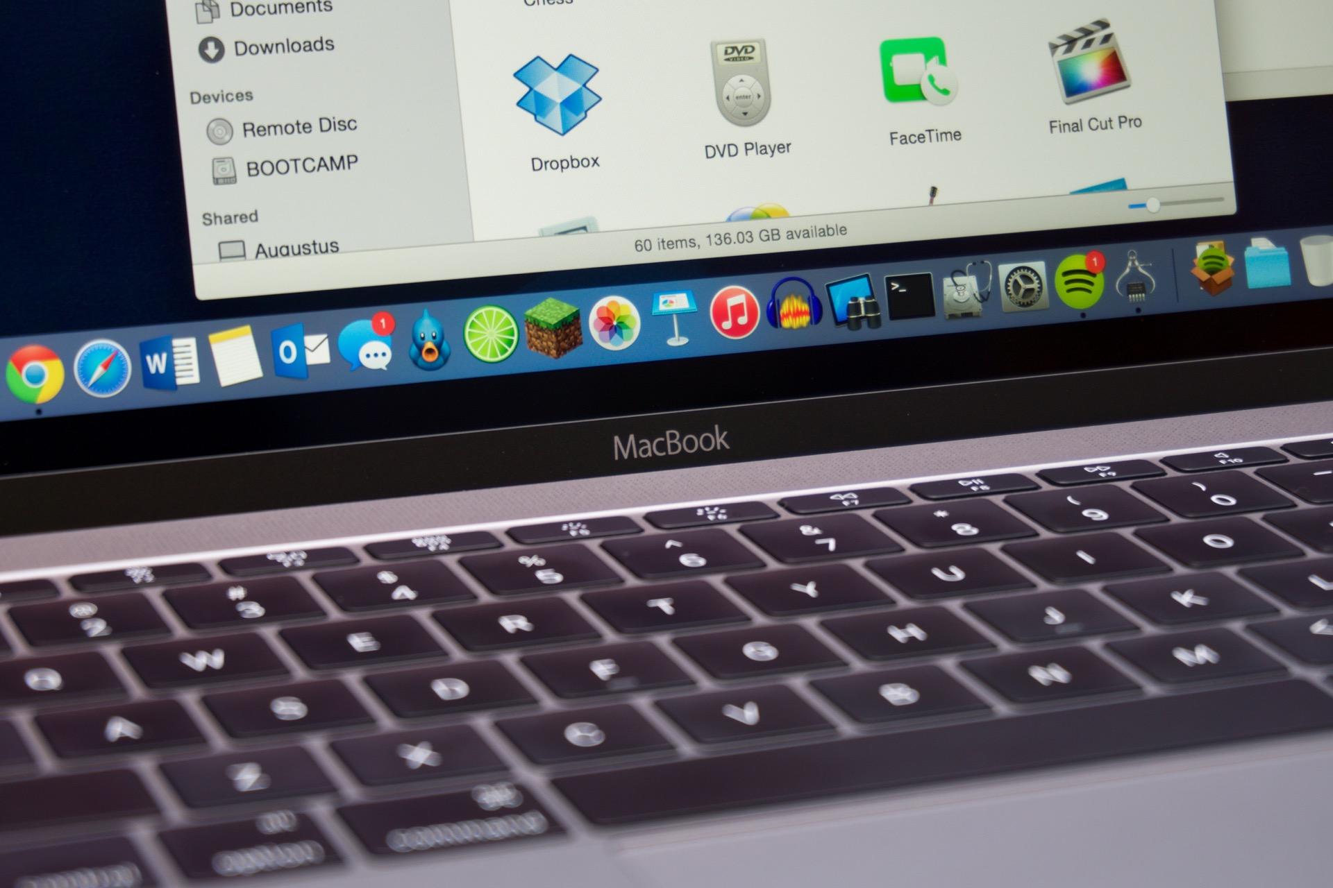 The 2015 MacBook.