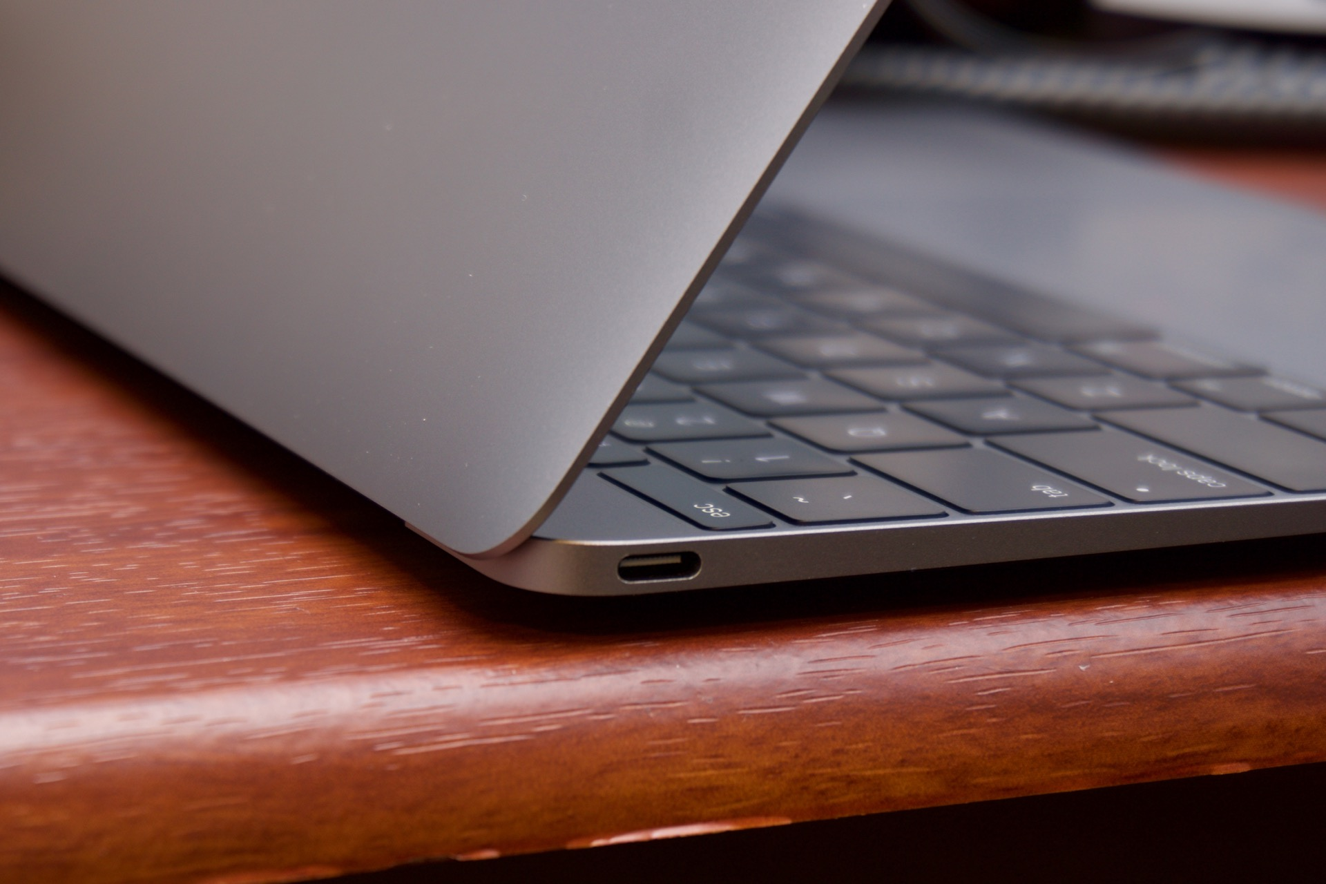 USB Type-C is all you get with the new MacBook.