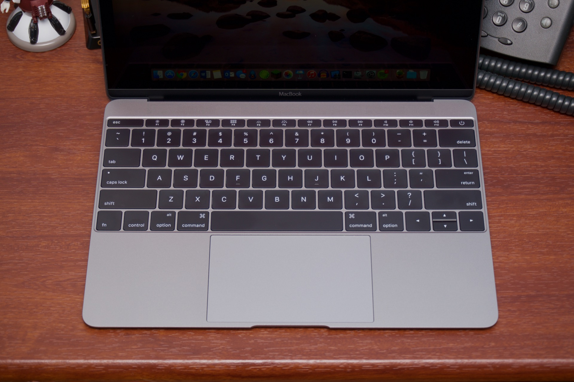 The MacBook's keyboard and trackpad are different, but on the whole they're pretty good.