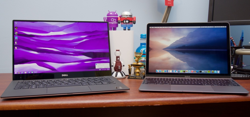 The MacBook is one of the few laptops that can make Dell's XPS 13 look big.