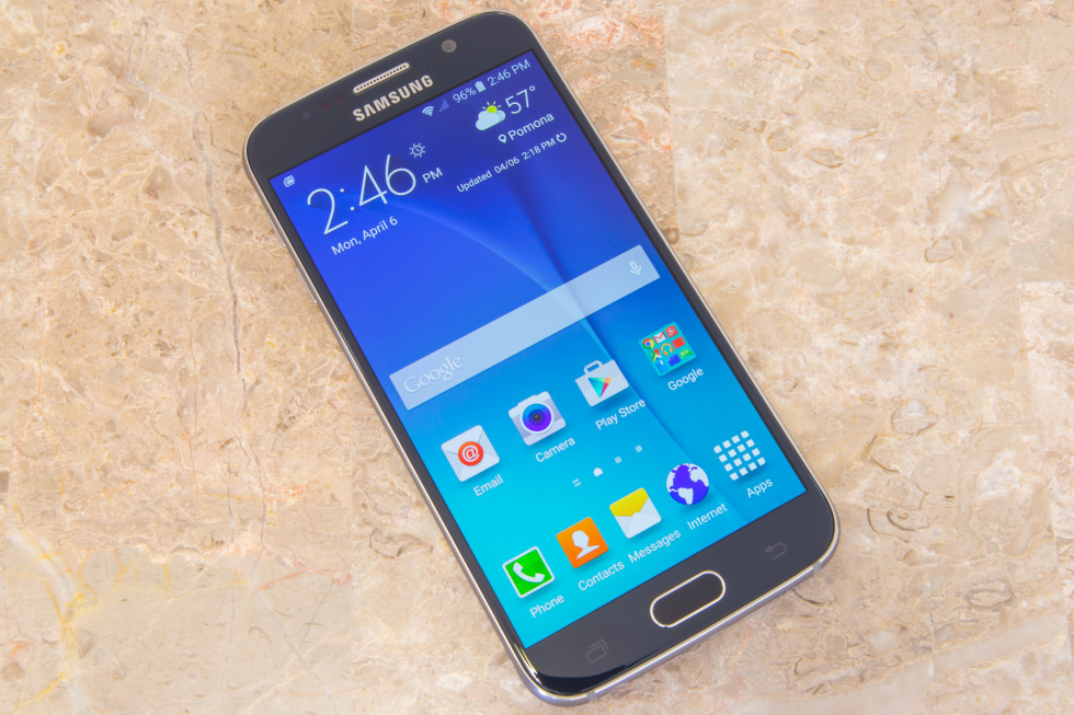 Samsung's newest flagship, the Galaxy S6.