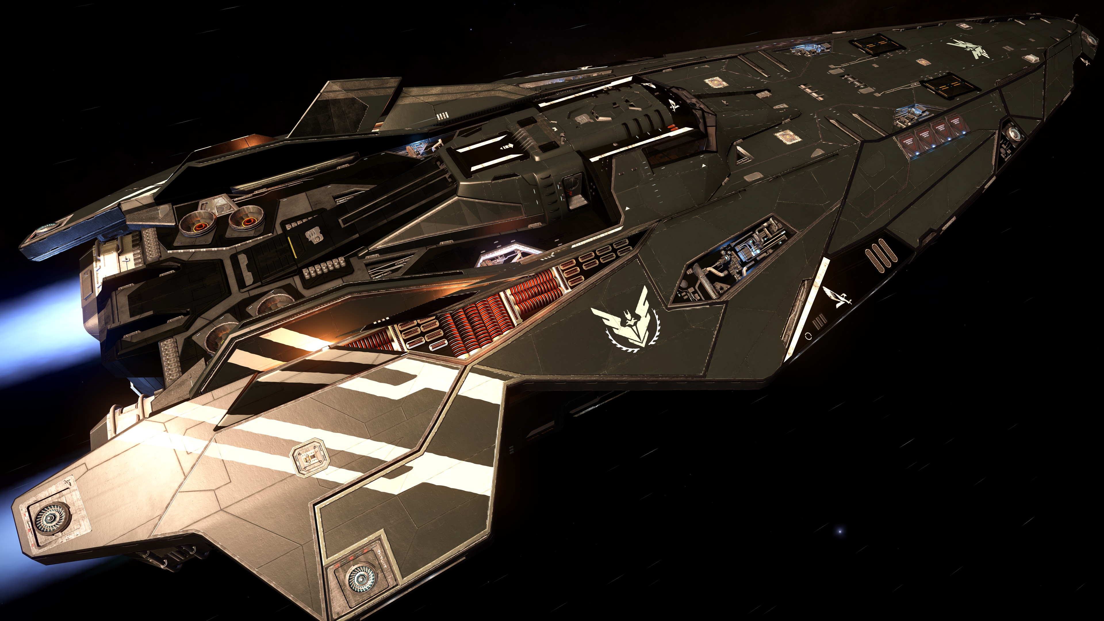 Elite Dangerous Mercenary Paint Job