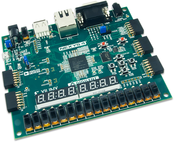 MIPSfpga will be compatible with FPGA platforms like the Digilent Nexys4.
