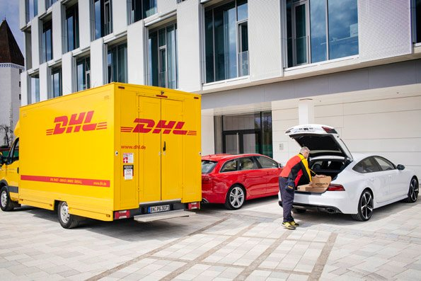 Amazon, Audi, and DHL want to turn a car trunk into a delivery locker