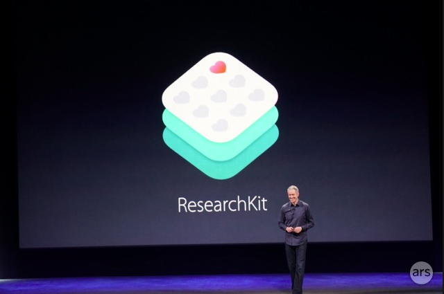 Announcing ResearchKit in March.