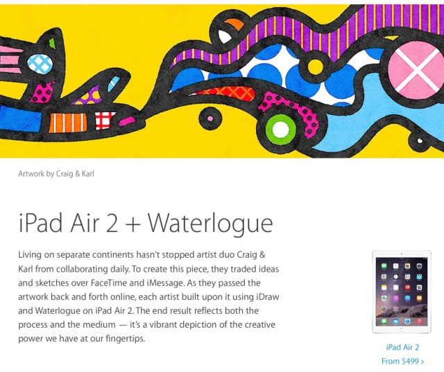 Did Apple and its ad designers steal from Brazilian artist Britto?