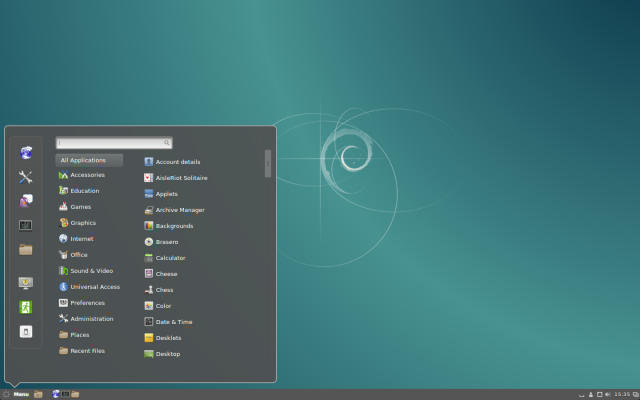 Debian with Cinnamon (not to be confused with Linux Mint Debian Edition).