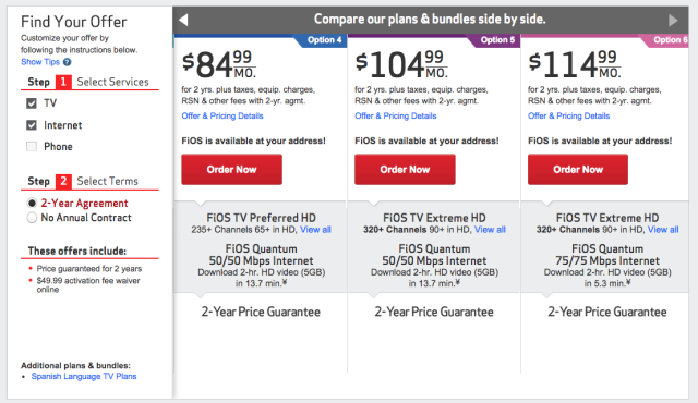 "Verizon's new ""Custom TV"" is small step toward a la carte"