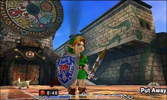<i>The Legend of Zelda: Majora's Mask 3D</i> added significant gameplay tweaks along with improved visuals.