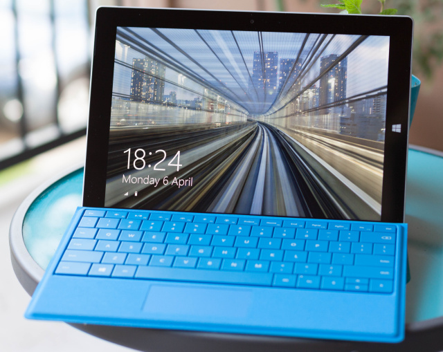 The Surface 3's non-LTE version.