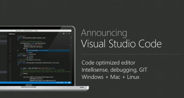 Microsoft releases free Visual Studio Code and Visual Studio 2015 RC