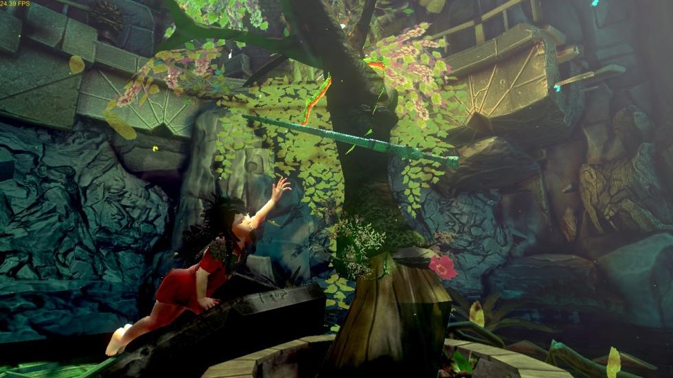 A scene from Brazilian developer Swordtales' <i>Toren.</i>