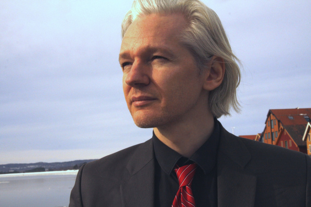 Julian Assange as seen in March 2010.