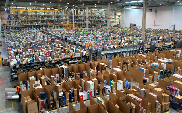 Amazon is now paying full UK tax, rather than booking sales in Luxembourg