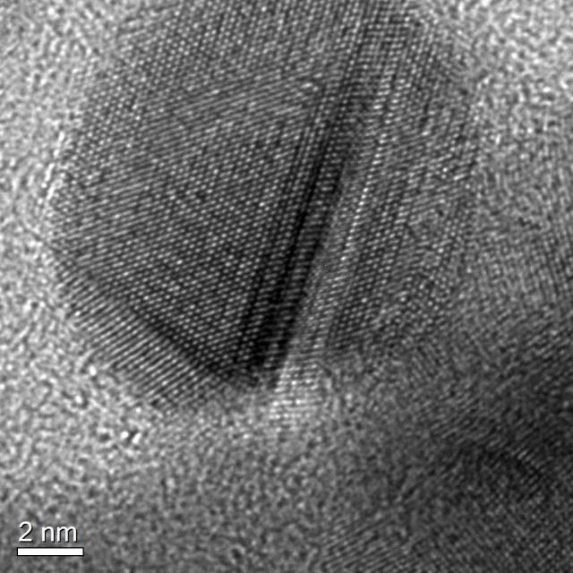 Nanodiamonds really are quite small.