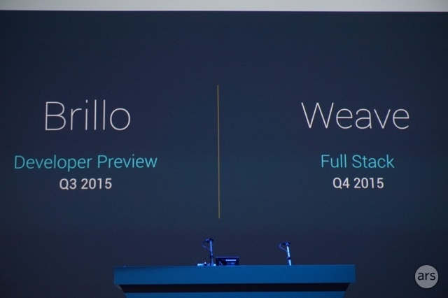 "Google announces cut-down Android-based ""Brillo"" for Internet of Things"