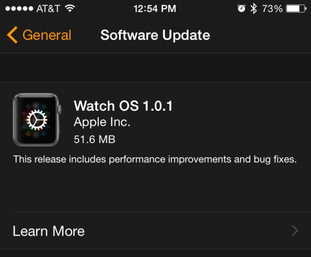Apple releases Watch OS 1.0.1 with Siri and fitness tracking improvements