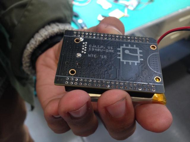 The underside recalls an older circuit board design.