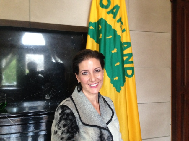 Libby Schaaf became Oakland's 50th mayor in January.