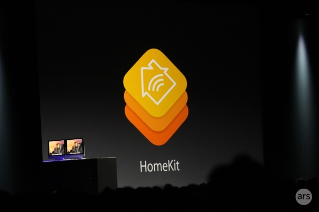 HomeKit was announced during the opening keynote at WWDC 2014.